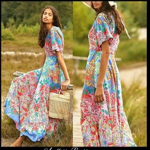 NWT Anthropologie Amandine maxi dress